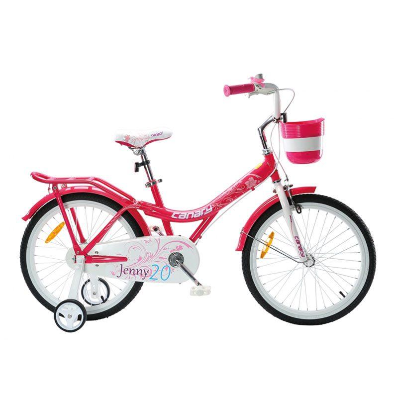 دوچرخه بچگانه قناری مدل  Jenny سایز 16
