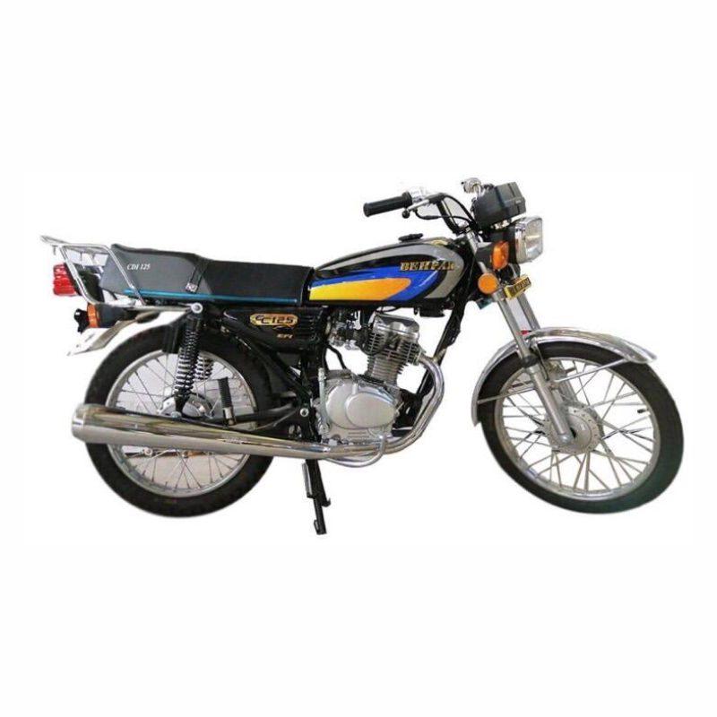 موتورسیکلت به پر مدل 125 استارتی سال 1399