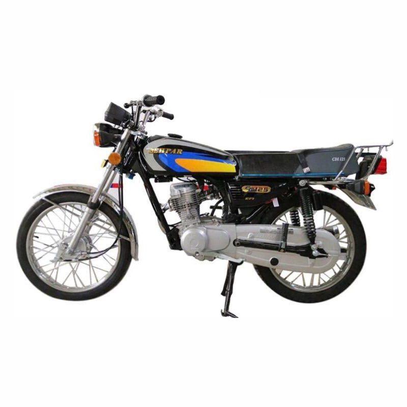 موتورسیکلت به پر مدل 125 سال 1399