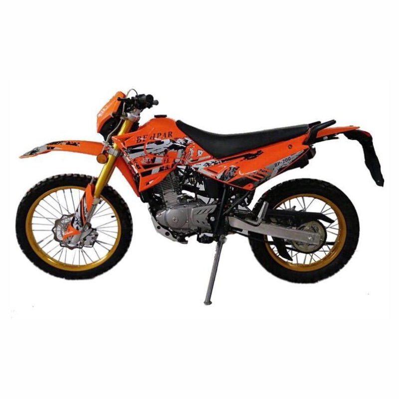 موتورسیکلت به پر مدل تریل BP 200 سال 1399
