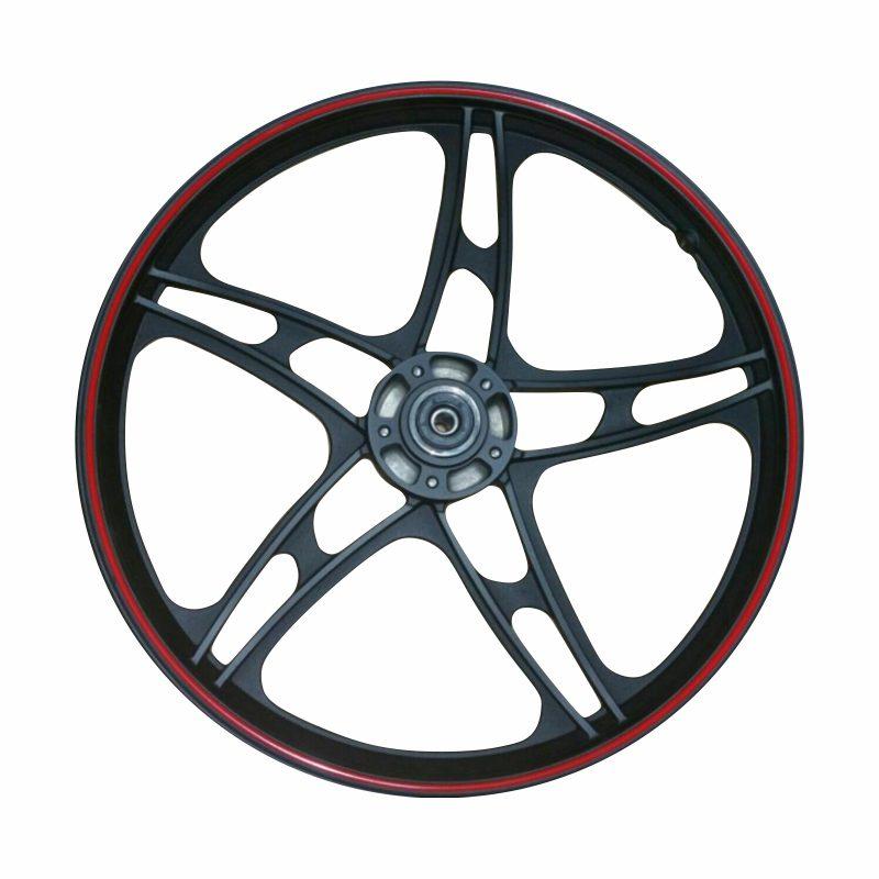 رینگ چرخ جلو موتورسیکلت طرح هندا مدل همتاز
