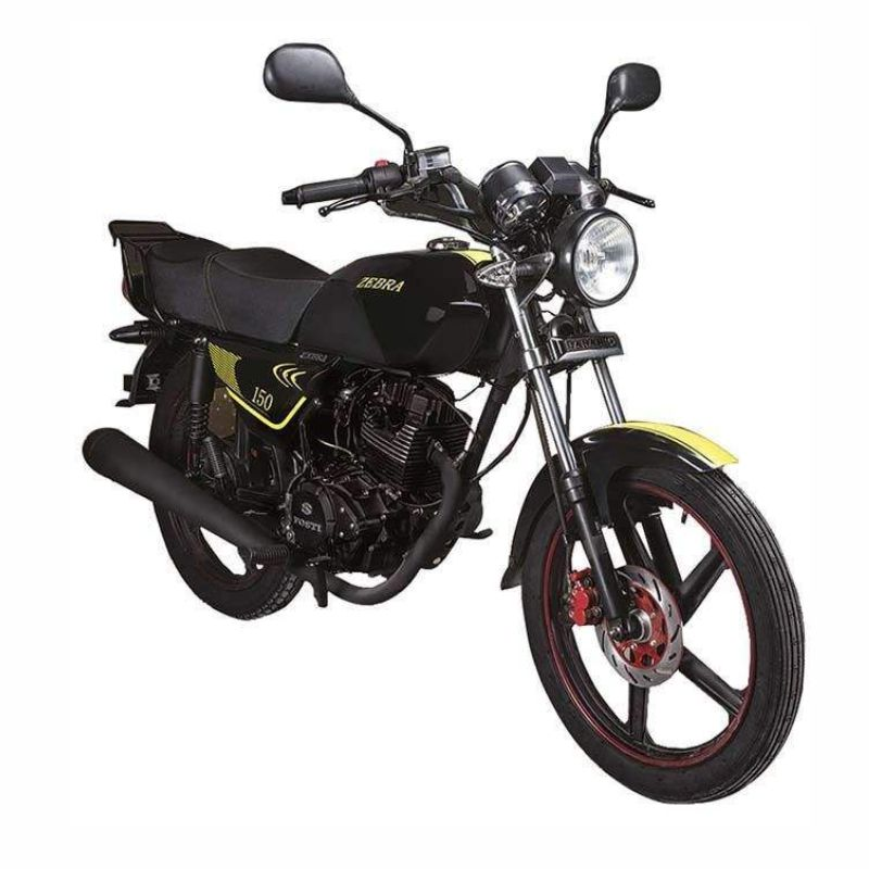 موتورسیکلت جهانرو مدل زبرا 150 سال 1398