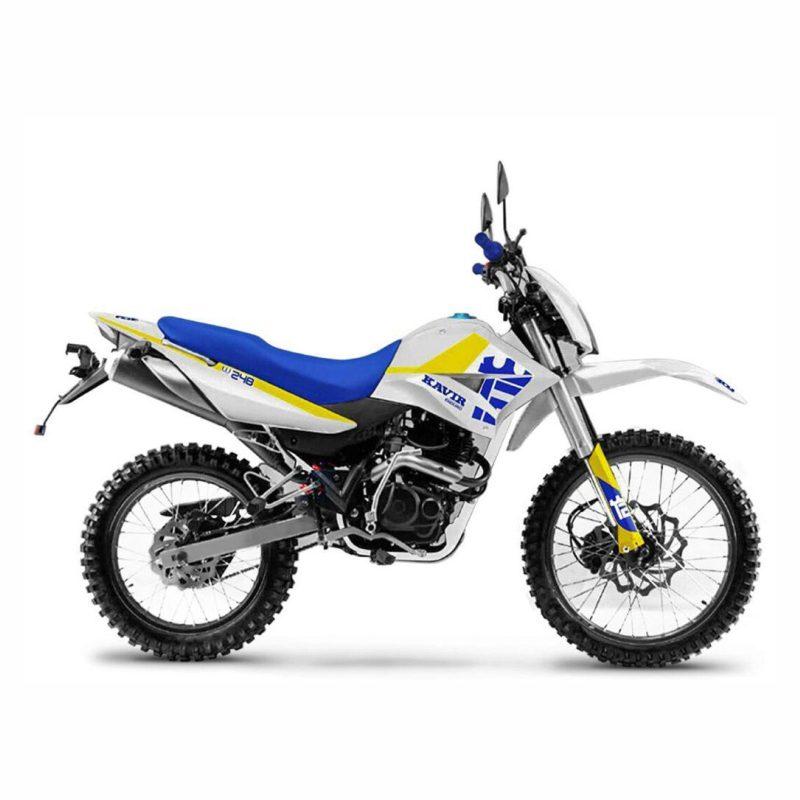 موتورسیکلت کویر مدل تریل T2i 248 سال 1399