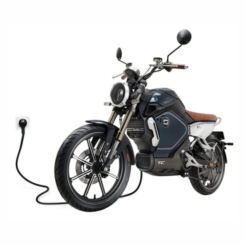 موتورسیکلت برقی SOCO مدل سوپرمکس TC 2000