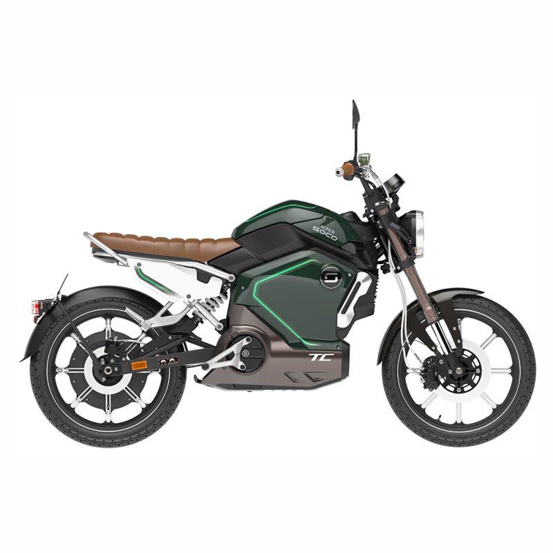 موتورسیکلت برقی SOCO مدل سوپر TC 2000