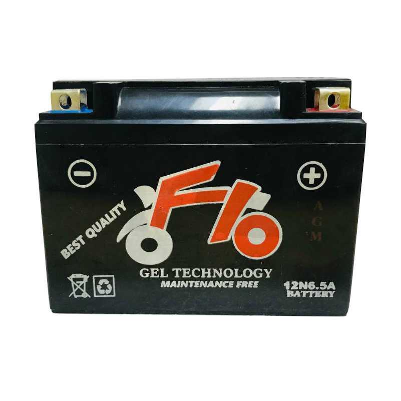 باتری اتمی موتورسیکلت F10 مدل 12V-6.5